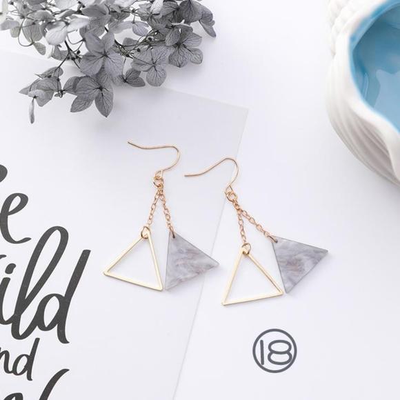 Unique Zone Jewelry - ❤️️NEW UNIQUE Cute Triangle Handmade Earrings GY4